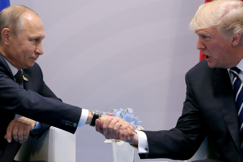 North Atlantic Treaty Organisation summit: Donald Trump says Germany is 'captive of Russians'