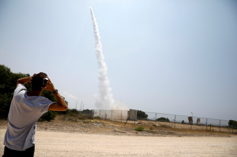 Israel Bombarded by 200 Rockets in 24 Hours