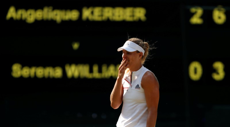 Serena Williams loses final to Kerber