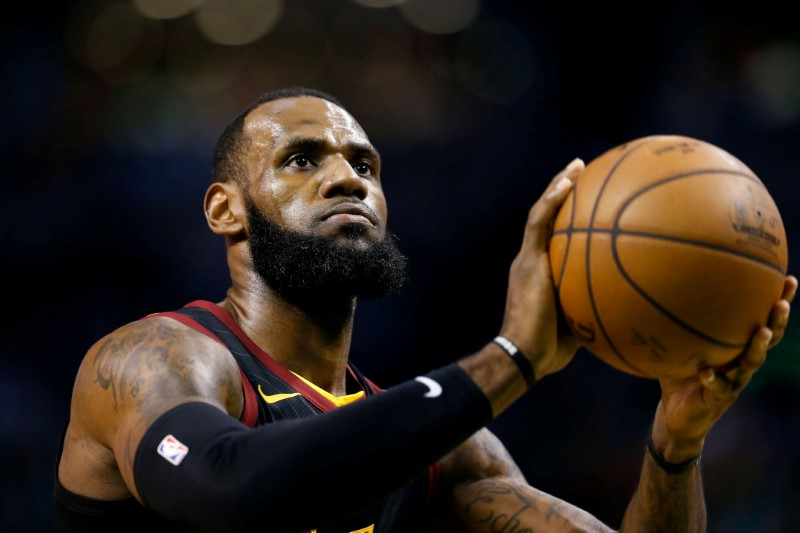 NBA2K Gives Us First Look At LeBron James In A Lakers Jersey