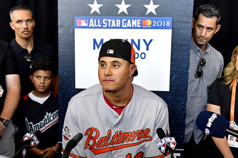 Orioles SS Machado headed to Dodgers