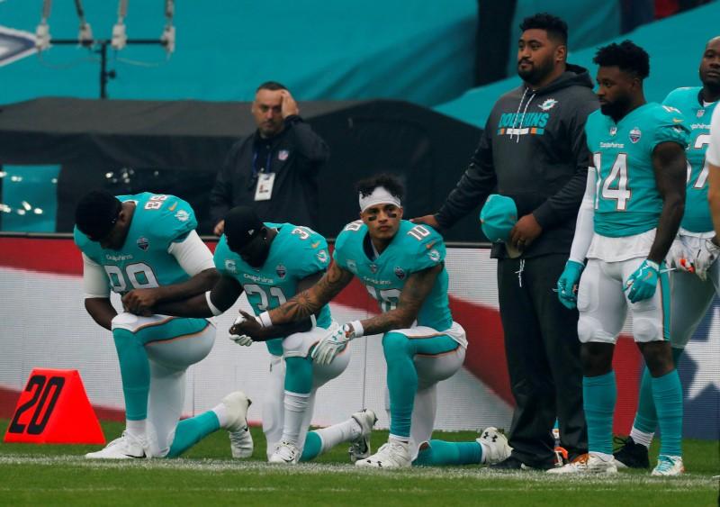 FILE PHOTO: Miami Dolphins vs New Orleans Saints - NFL International Series