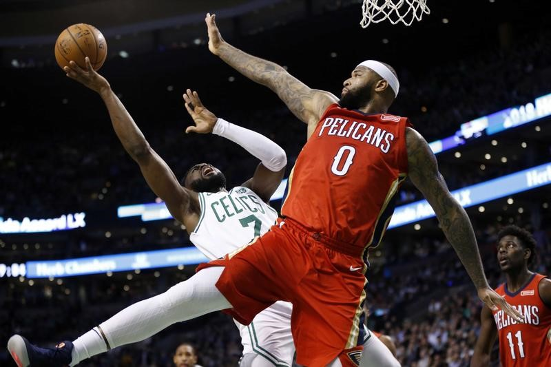 NBA New Orleans Pelicans at Boston Celtics