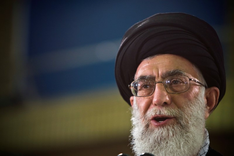 Khamenei rejects talks with USA , praises Rouhani threat to close Hormuz Strait