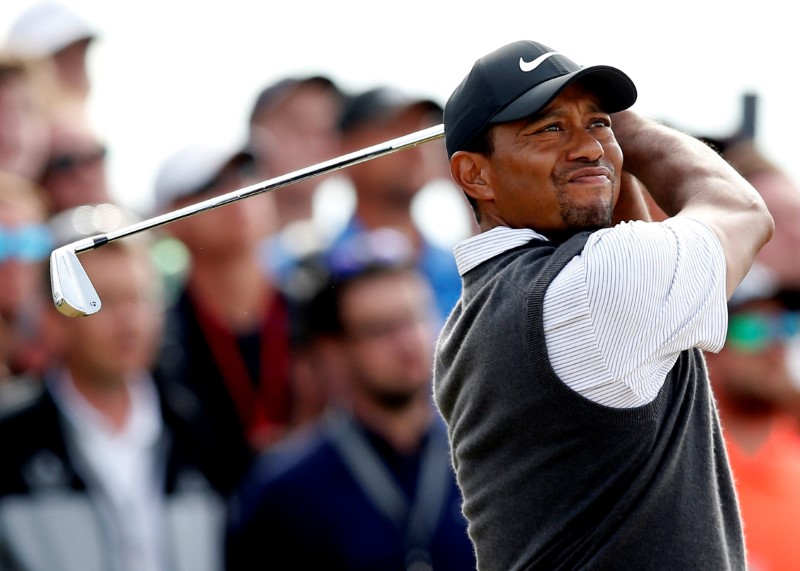 Tiger Tracker: Follow Tiger Woods' progress at the British Open