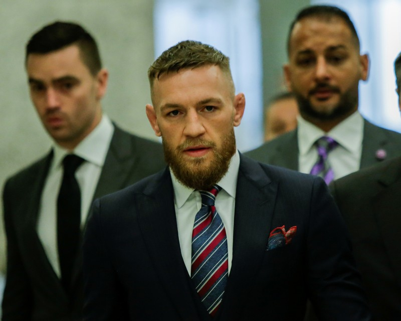 McGregor back in court amid melee plea talks