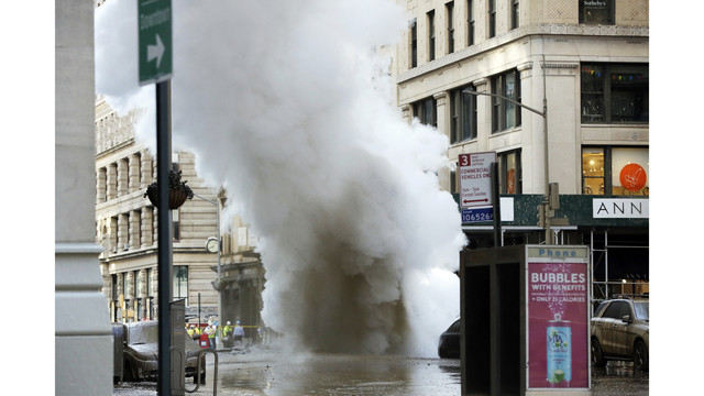 NYC Pipe Explosion Cleanup Continues, 500 Residents Displaced