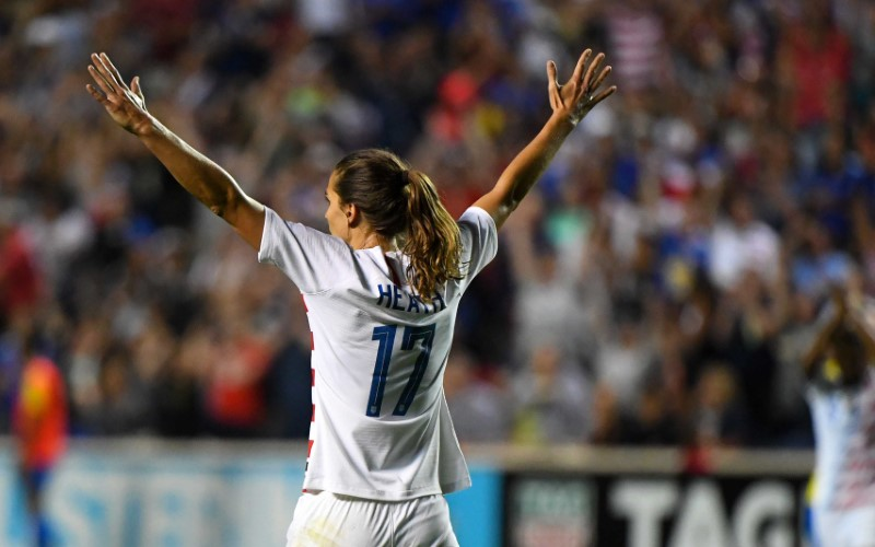 US defeats Brazil 4-1 to clinch Tournament of Nations title