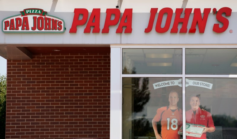 The Papa John's store in Westminster