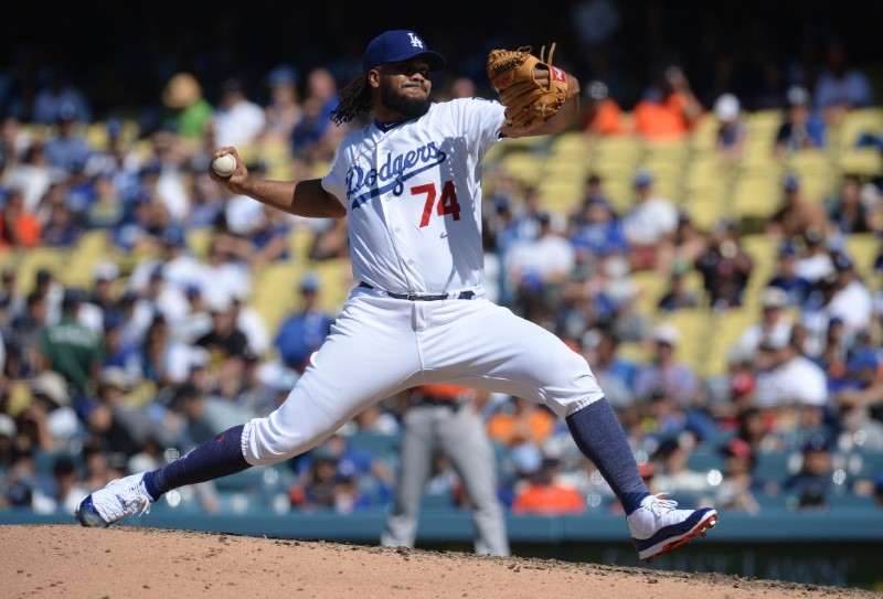 MLB: Houston Astros at Los Angeles Dodgers