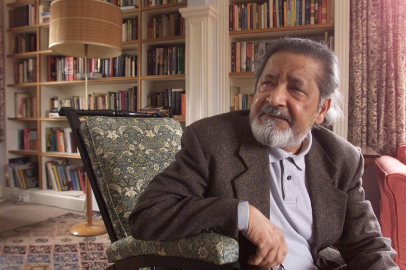 FILE PHOTO: BRITISH AUTHOR V.S. NAIPAUL WINS THE NOBEL PRIZE FOR LITERATURE.