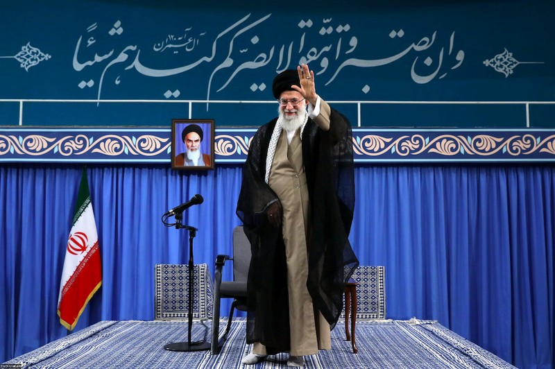 Iran's leader orders government not to talk to US