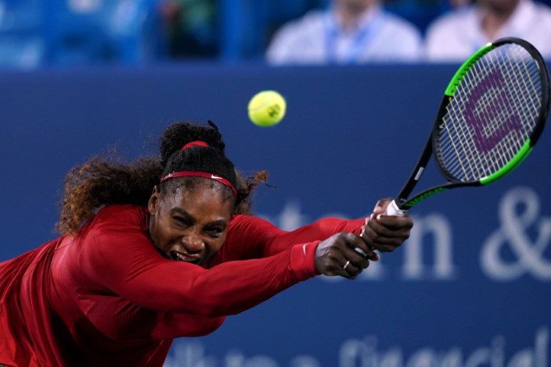 Serena beaten by Kvitova in second round in Cincinnati