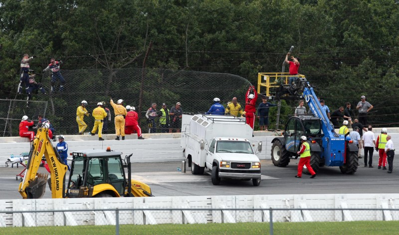 IndyCar's Wickens suffers 'orthopedic injuries' in crash