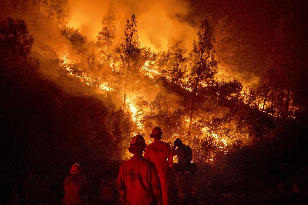 Firefighter killed battling largest blaze in California history