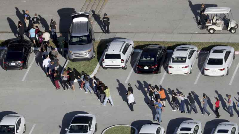 Suspect exclaimed 'kill me' after Florida school shooting