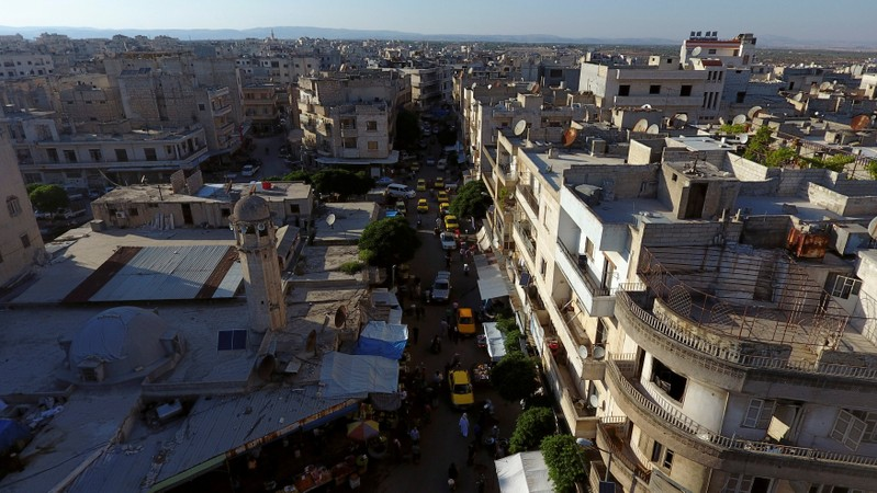 'Great fear' as Syrian regime bombs edge of rebels' last stronghold Idlib