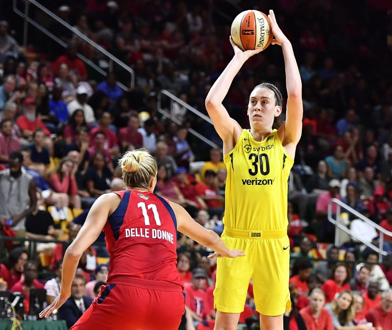 On cusp of 3rd WNBA title, Seattle Storm not about to relax