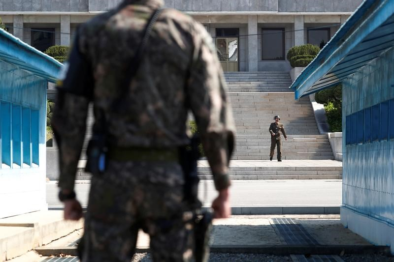Koreas open joint liaison office in North