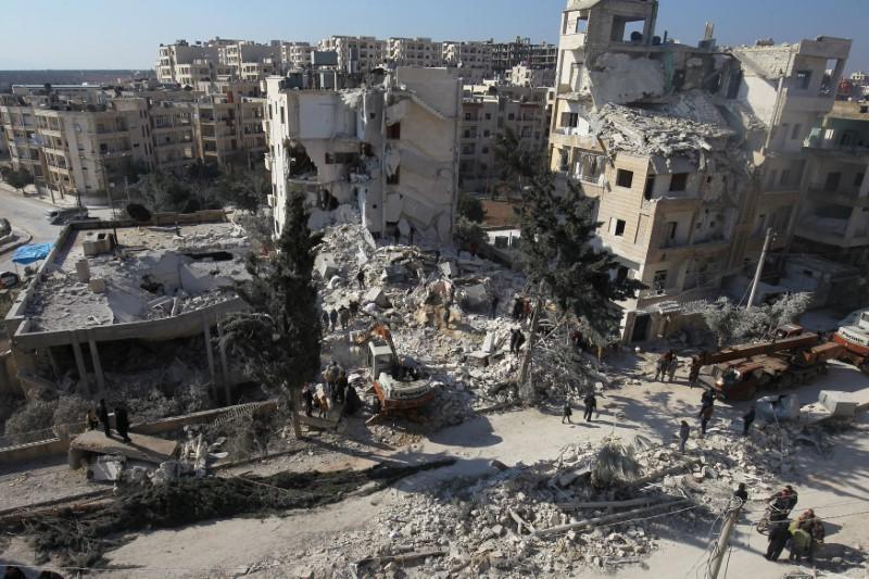 Russian Federation  blames Israel for Syria shooting down military plane
