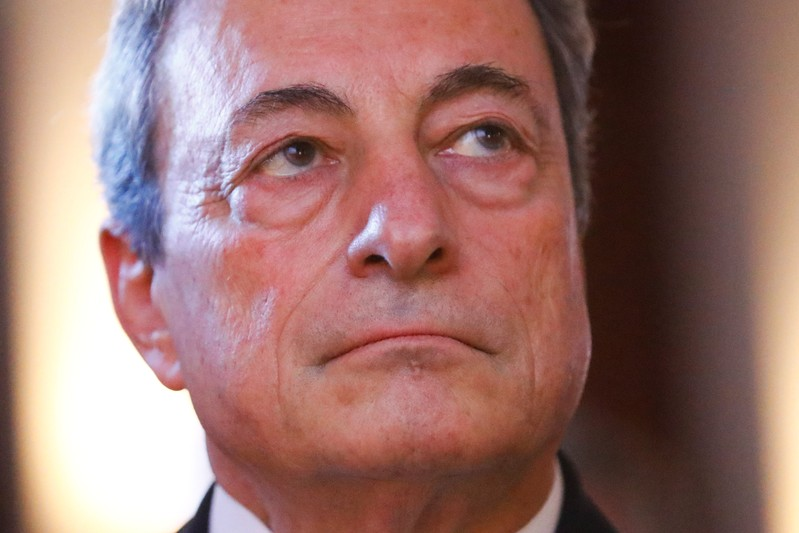 ECB's Draghi calls for 'sizeable' euro area fund against crises