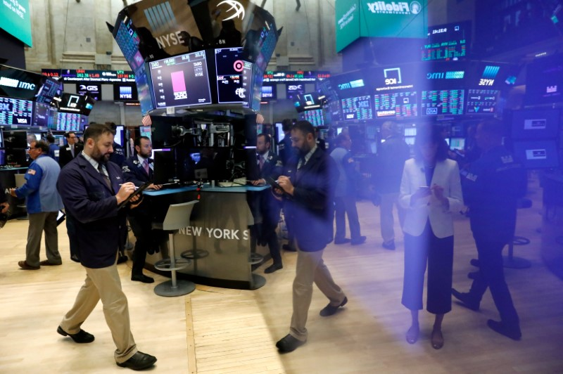 FILE PHOTO: Wall Street set for overhaul of industry sectors