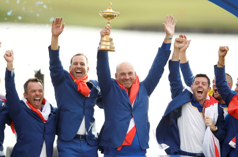Tommy Fleetwood revels in new status as Ryder Cup's 'Moliwood' star