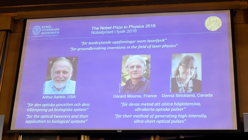 University of Waterloo prof awarded Nobel Prize for physics