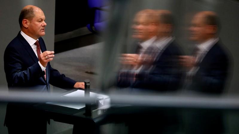 Lower house of parliament Bundestag 2019 budget debate in Berlin
