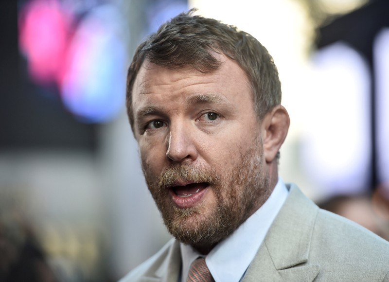 FILE PHOTO: Director Guy Ritchie arrives at the European premiere of