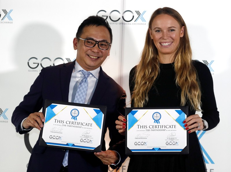 990c5febb65a8 Tennis star Wozniacki signs deal to launch her own crypto token ...