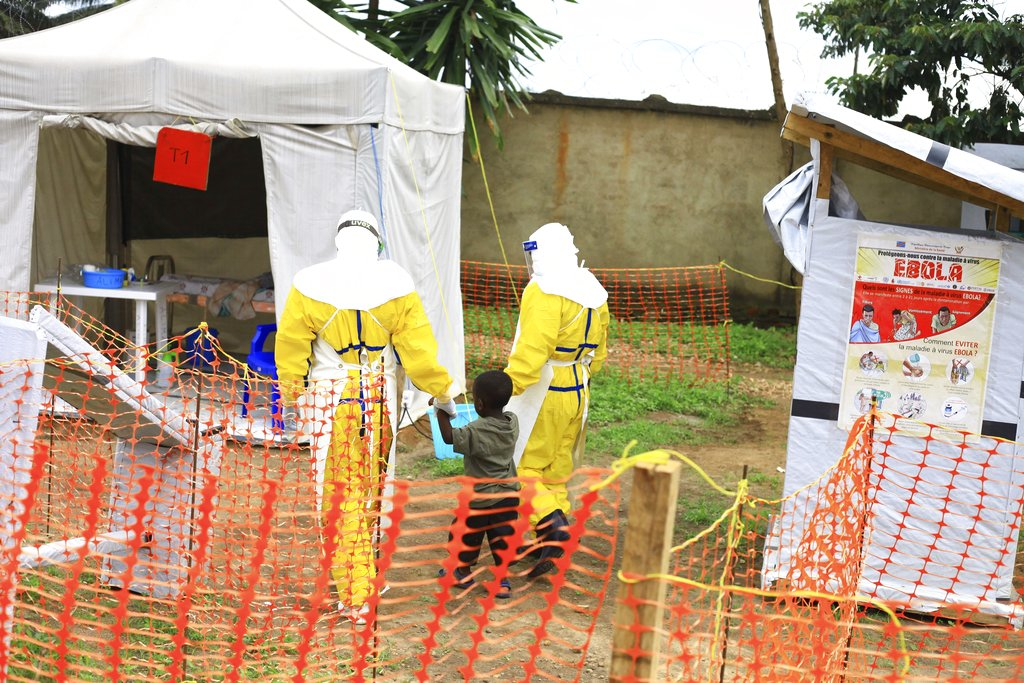 DR Congo's Ebola outbreak may last up to four months