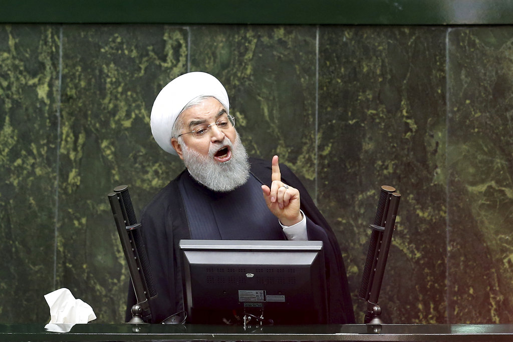 U.S.  tightens screws on Iran