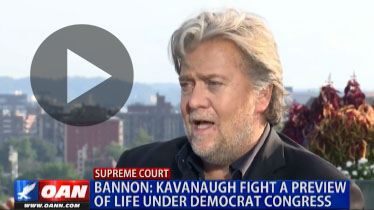Bannon: Kavanaugh fight a preview of life under Democrat Congress