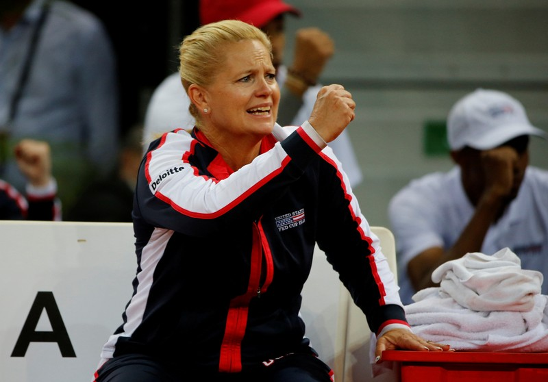FILE PHOTO: Fed Cup - World Group Semi Final - France vs United States