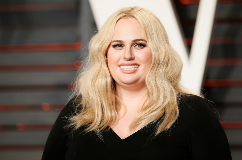 FILE PHOTO: Actress Rebel Wilson arrives at the Vanity Fair Oscar Party in Beverly Hills