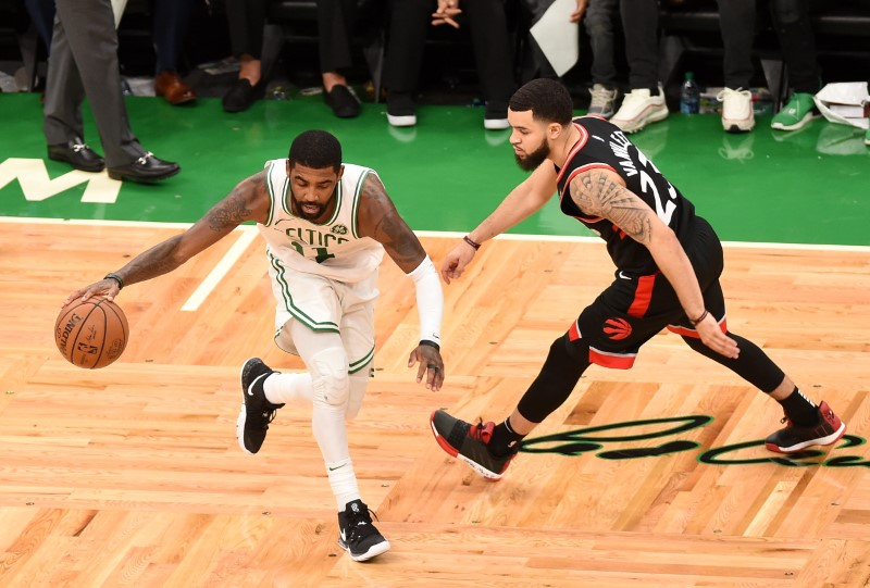 Boston Celtics: Kyrie Irving continues to carry team