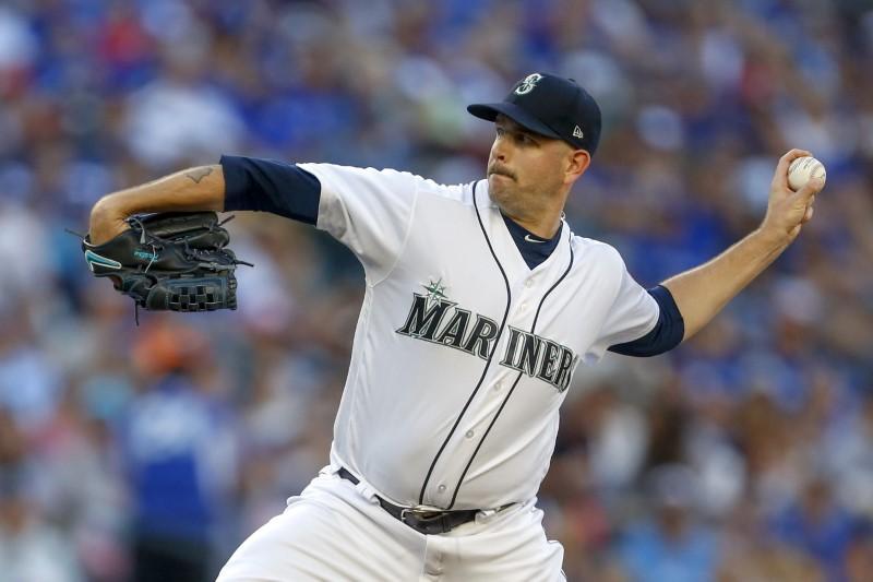 美国职业棒球大联盟:多伦多蓝鸟队在西雅图水手队