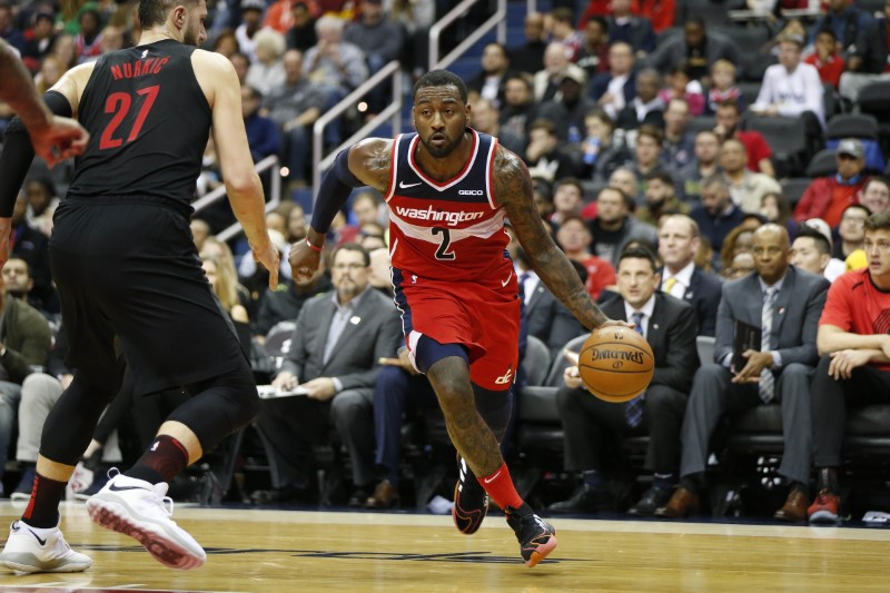 Washington Wizards' John Wall, Bradley Beal available in trade scenarios