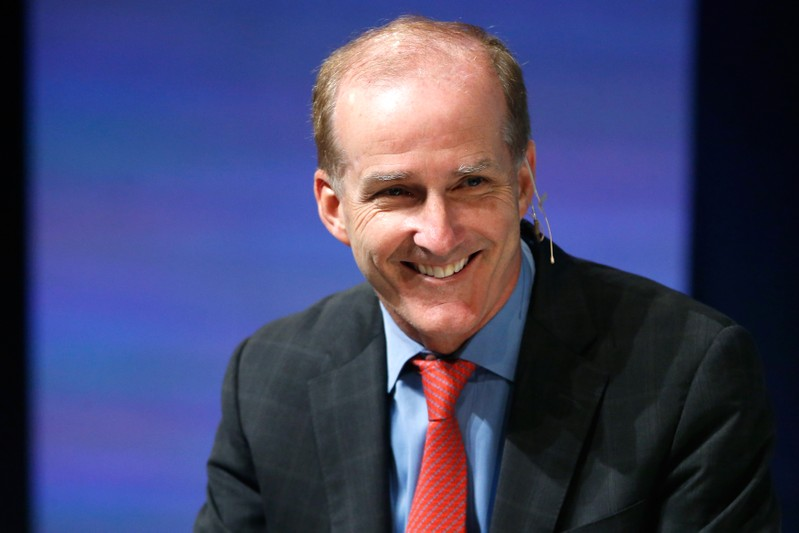 NRG Energy President and CEO David Crane participates in the Washington Ideas Forum, in Washington