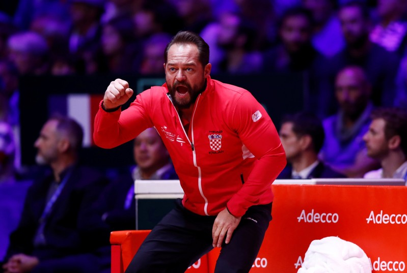 Croatia defeat France to win Davis Cup title