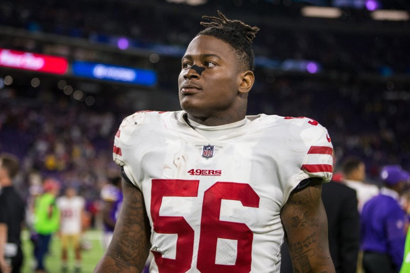 49ers Linebacker Reuben Foster Arrested in Tampa, Charged With Domestic Violence