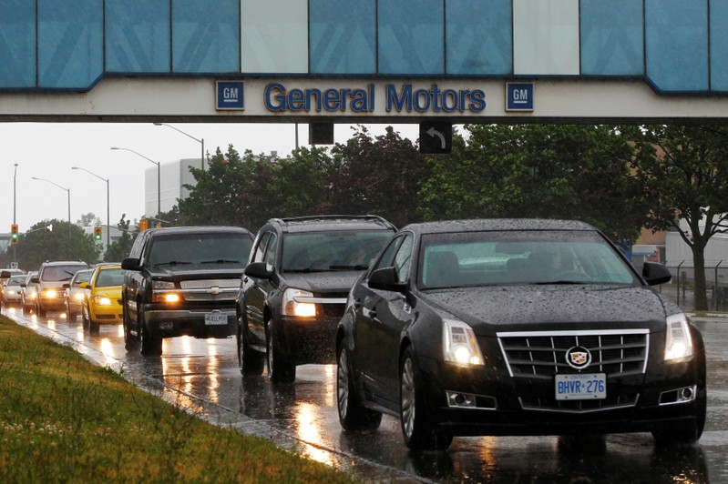 General Motors plans to close Canadian assembly plant