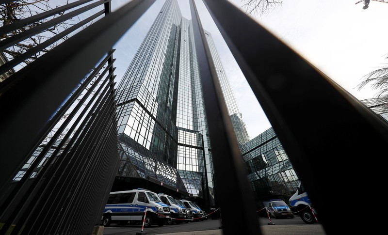 Deutsche Bank offices searched under money laundering investigation