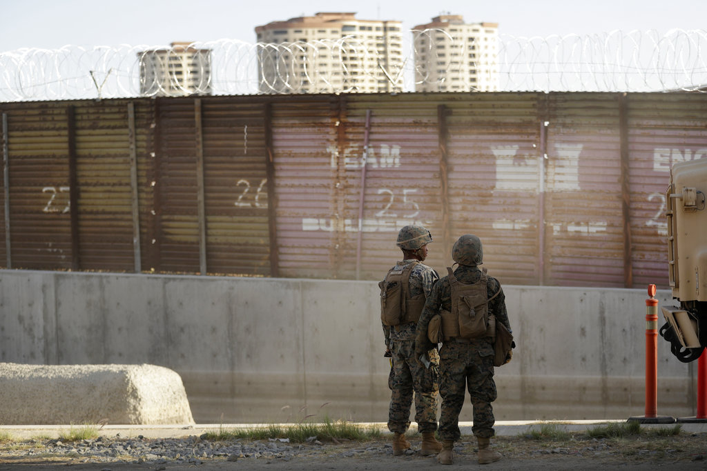 Troops get new authority to use force to protect border patrol