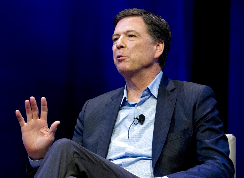 Ex-FBI Chief James Comey Challenges House Subpoena in Court
