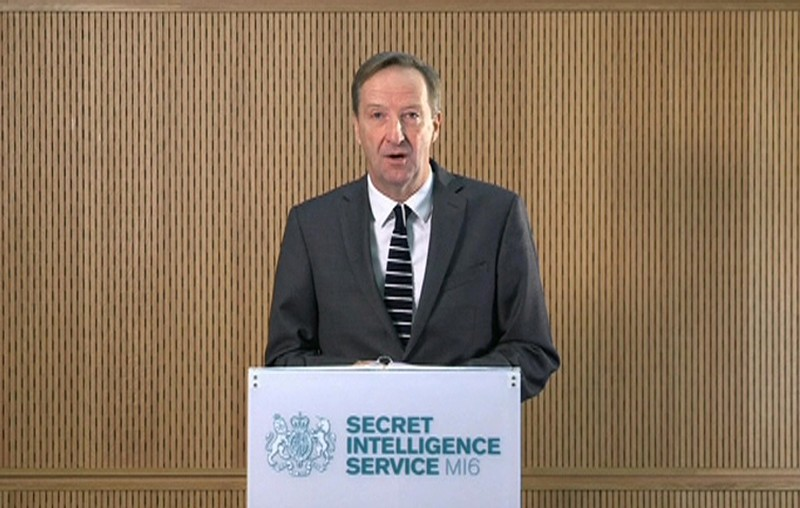 Don't underestimate our determination and capabilities, MI6 head warns Russian Federation