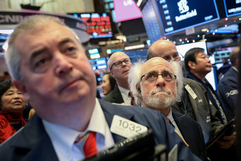 Fears of Global Growth Slam Stocks, Dow Drops by More Than 550