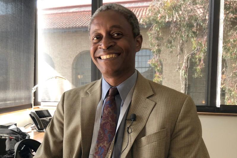 Atlanta Federal Reserve Bank President, Bostic speaks with Reuters in Stanford