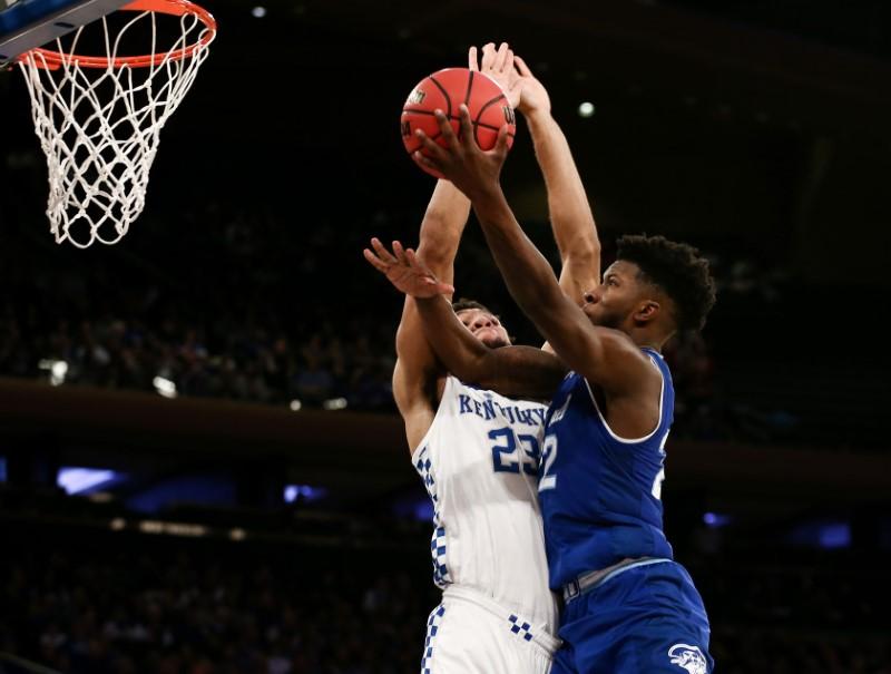Cale's 3-pointer gives Seton Hall upset of No. 9 Kentucky